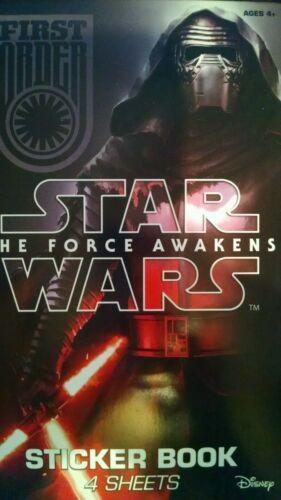 Star Wars The Force Awakens Kylo Ren BB Astromech Cruisers Stickers Book 90+
