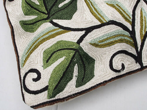 40x40 cm exklusiv Orient handbestickte Seiden sumakh Kissen Sitzkissen cushion N