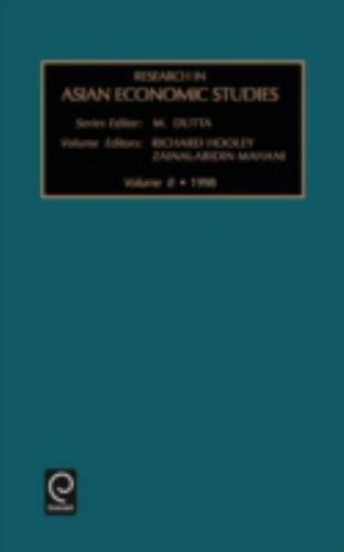 Research in Asian Economic Studies: Research in Asian Economic Studies Vol. 8...