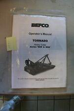 Befco Tornado Rsd Amp Rrb Rotary Cutter Operators Manual