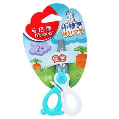 4-3//4 Hojas de plástico en color al azar niños Maped Kidi Corte Tijeras de seguridad