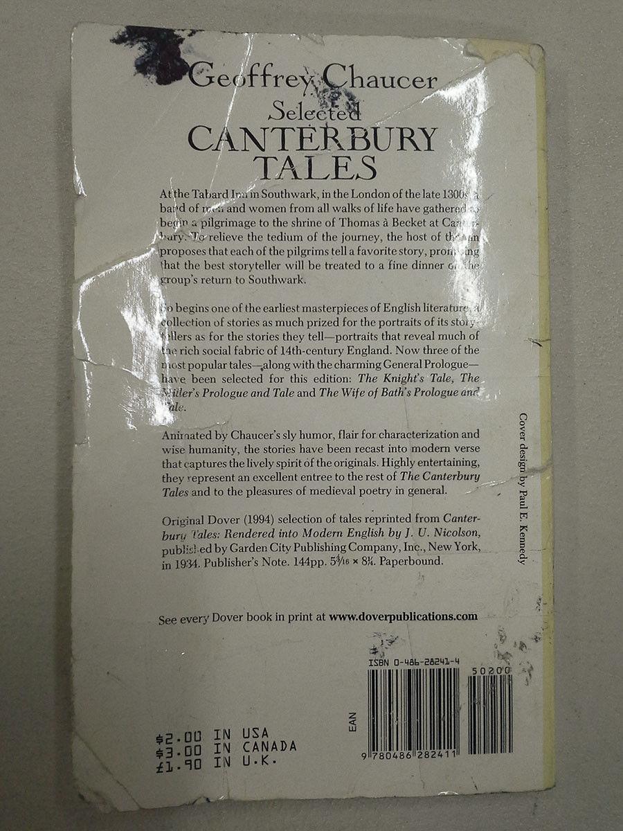canterbury tales humor