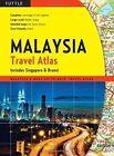 Malaysia Travel Atlas: Includes Singapore & Brunei by Tuttle Publishing (Paperback / softback, 2011)