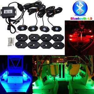 Bluetooth 40 led boat interior marine deck lights rgb changing image is loading bluetooth 4 0 led boat interior marine deck aloadofball Image collections