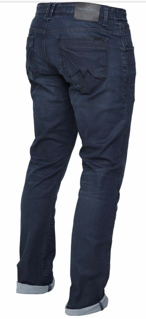 Mish Mash Frank Navy Slim Fit Jean  rrp    Up-to-date-styling
