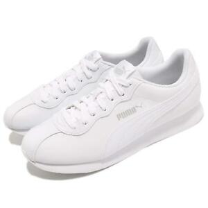 325246d2094c Puma Turin II White Men Running Walking Casual Shoes Sneakers 366962 ...