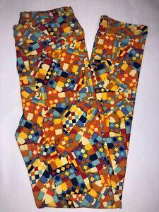 BoxII LuLaRoe Kids Leggings L//XL New Multicolor Small Triangles
