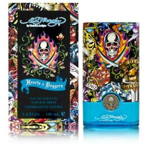 Ed-Hardy-Hearts-amp-Daggers-3-4-oz-edt-Cologne-Spray-for-Men-New-in-Box