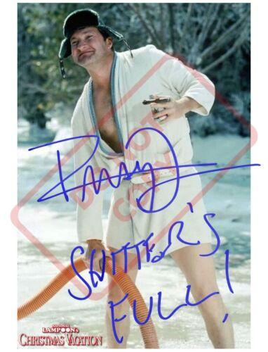 8.5x11 Autographed Reprint RP Photo Randy Quaid Shitters Full Christmas Vacation