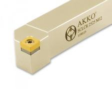 AKKO Drehhalter SCLCR 16x16 mm Klemmhalter rechts für ISO WSP CCMT09 NEU in OVP
