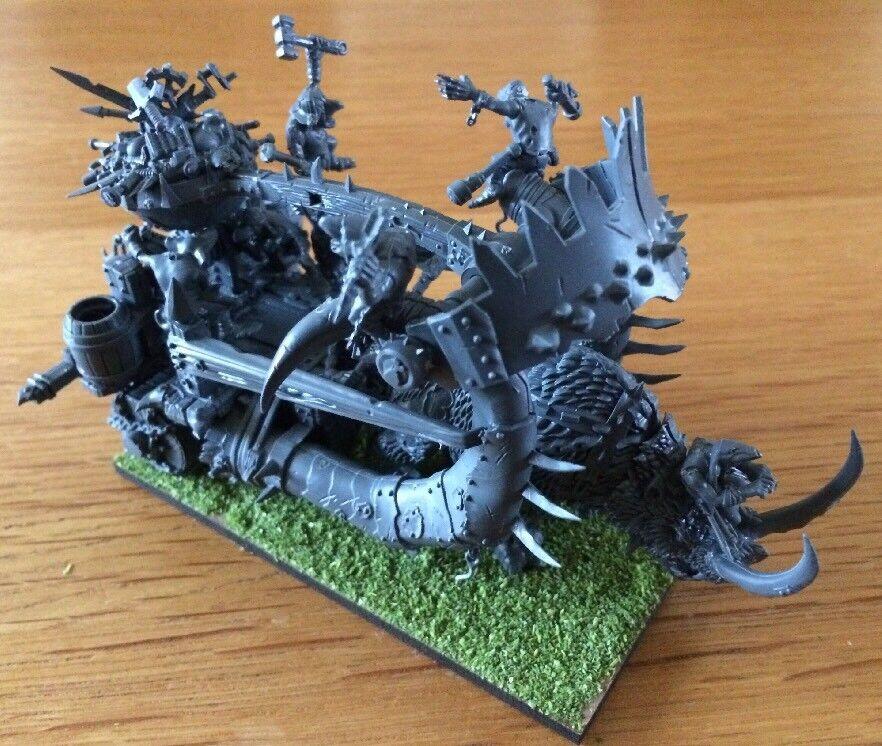 Warhammer Age Of Sigmar Miniatures Mammoth Kislev War Catapult & Crew RARE
