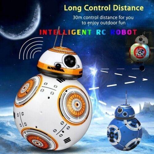 BB-8 2.4GHz Radiocomando Robot palla telecomando PIANETA Boy con suono giocattolo di Star Wars Kid