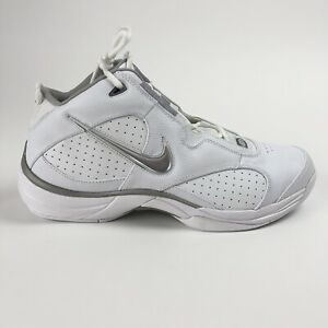 9b84a214ecb2d Nike Flight Fury Mens Size 13 Mid Top White Basketball Shoes ...