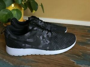 Details about Nike Roshe One Premium Plus 807611 001 Black Sneakers Men's 11