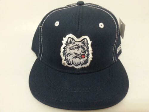 NCAA University of Connecticut Embroidered Snap Back Cap Flat Bill New