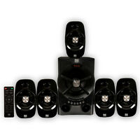 Blue Octave B54 Home Theater 5.1 Bluetooth Speaker System With Fm Tuner Usb / Sd