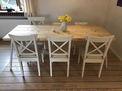 spisestuemøbler hvide