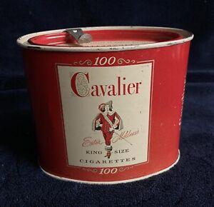 Vintage-Cavalier-100-King-Size-Cigarette-Tin