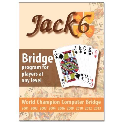 Jack 6- Bridgeprogram för spelare på alla nivåer (PC- CD)