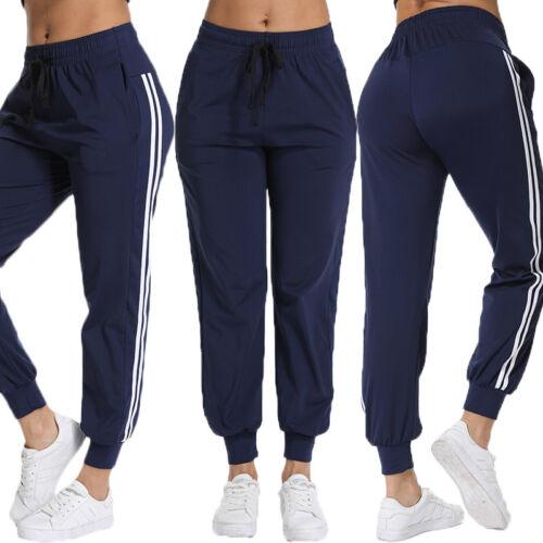 Damen Jogginghose Wellness Freizeit Sporthose Linien Gesundheit Trainingshose 02