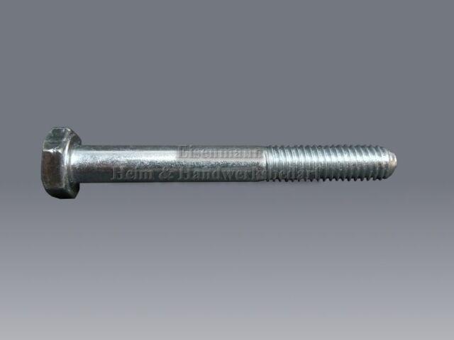 Sechskantschrauben M12 x 50 -300 mm DIN 931 verzinkt 8.8 Maschinenschrauben M 12