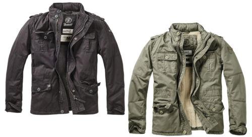 Brandit Herren Britannia Winter Jacket Feld Hemd S 5XL Schwarz Oliv Blau Camel