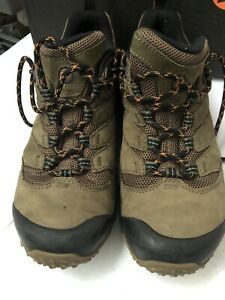Merrell-Cham-7-GTX-Mens-Waterproof-Brown-Walking-Hiking-Shoes-Trainers-Size-9