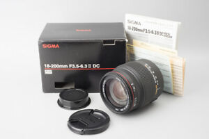 Sigma-Zoom-18-200mm-f-3-5-6-3-II-DC-OS-HSM-Lens-For-Pentax-K-Mount-Boxed