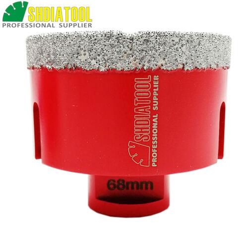 1pc Dry Diamond Drill Core bits de forage trou scie pour carrelage marbre granit