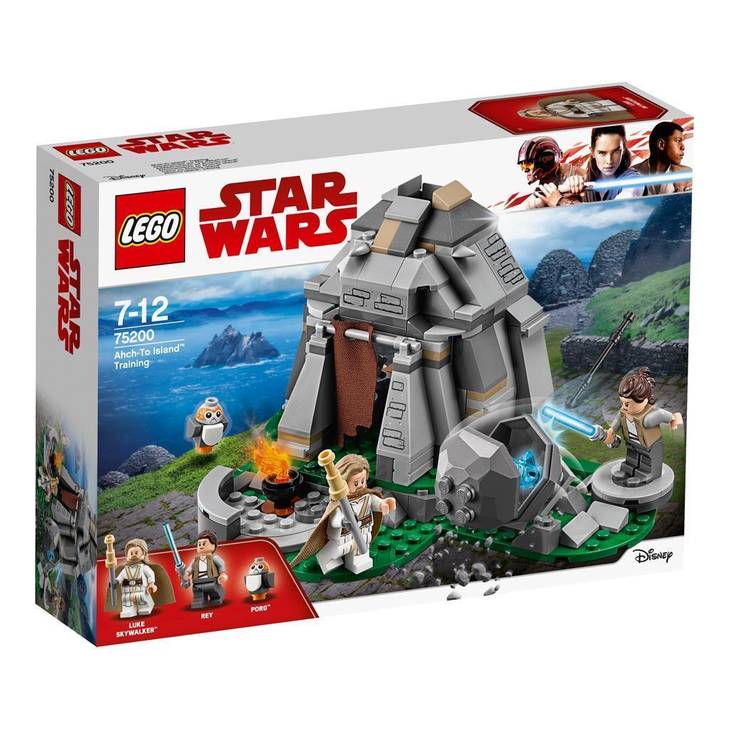 LEGO STAR WARS SET 75200 ahch-to Island Entrenamiento