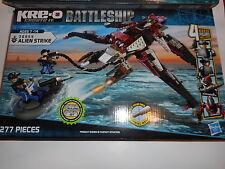 Kre-O Battleship Building Set Battle Alien Strike 38955 Ages 7-14  Hasbro NEW