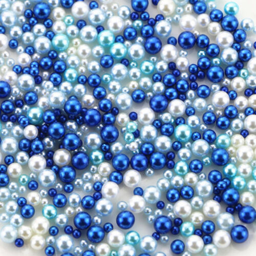 LOTS 500PCS Simulation Pearl Spacer Loose Beads Filler Round Jewelry Making DIY