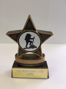 Chant Musique Karaoke talent Trophy Award 3 Tailles Gravure Gratuite