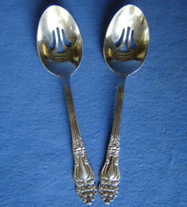 """Reed /& Barton Stainless Haversham Tablespoon Serving Spoon 8 3//4/"""" NEW"""