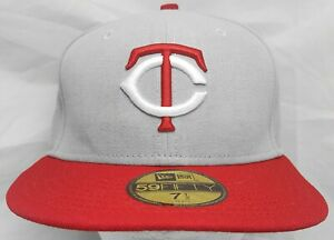 Minnesota Twins MLB New Era 59fifty 7&1/2 fitted cap/hat