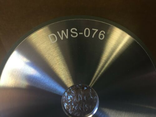 DWS-076 Diamond Wheel 150 Grit 1A1  6 X 1//4  X 1-1//4 Hole Resin Bond