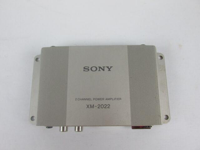Best Solid State Amp 2020 Vintage Sony Amplifier Model Xm 2020 2 Channel for sale online | eBay