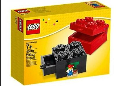 NEW Lego Set 40118 Buildable Brick Boxes 2x2 Hard 2 Find Storage -Christmas Gift