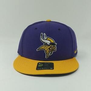 NFL Minnesota Vikings Nike Everyday True Mens Snapback Cap Hat for ... c202a79bc