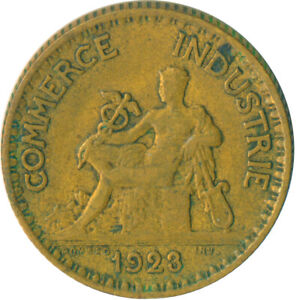 COIN-FRANCE-1-FRANC-1923-CHAMBERS-DE-COMMERCE-WT6057