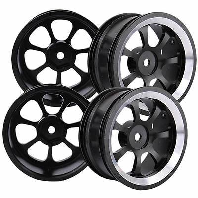 4PCS Metal Aluminum Wheel Rim For RC 1:10 On Road Model & Drift Car tires tyres