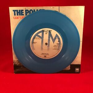 The Police Can T Stand Losing You Uk 7 Blue Vinyl Single Excellent Condition Ebay