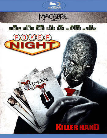 Poker Night (Blu-ray Disc, 2015) Sealed and Ships Fast!
