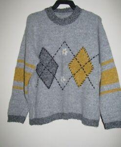 Girls-Teens-Grey-jumper-Size-M-L