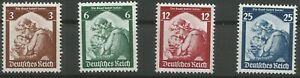 German-Reich-Minr-565-568-Clean-Mint