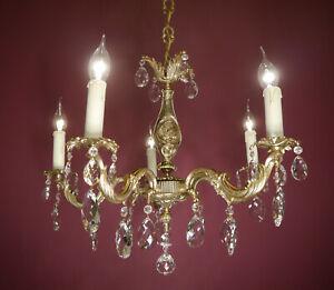 Chandelier Vintage Old Ceiling Lamp