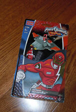 POWER RANGERS 2006 SPD MEGA BLOCKS RED RANGER SKY DEFENSE NEW IN PKG