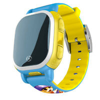 Qqwatch Gps Lbs Tracker Smartwatch Sos Alarm Monitor For Kids Baby Android/ios