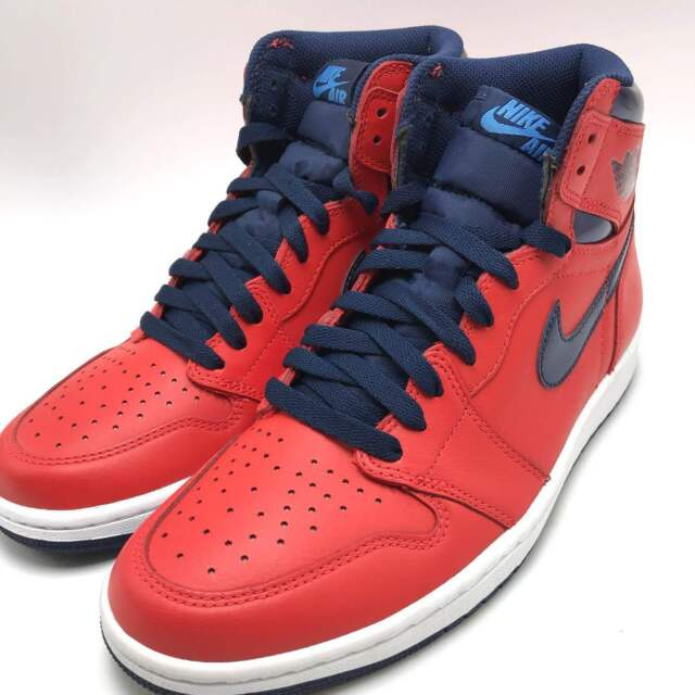 aeac070ff Nike Air Jordan 1 Retro High OG Crimson University Blue Men s Shoes  555088-606