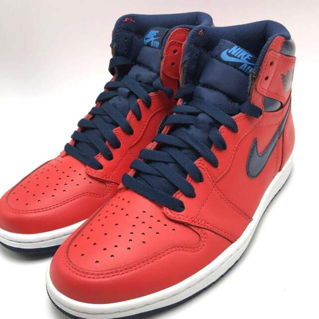 0f100e6bf40603 Nike Air Jordan 1 Retro High OG Crimson University Blue Men s Shoes  555088-606